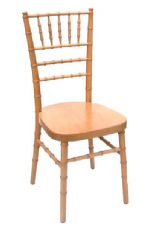 Oakland Natural Wooden Stacking Side Chair